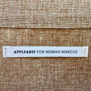 Neiman Marcus Bags - NWOT NEIMAN MARCUS jute & cotton canvas tote Lined